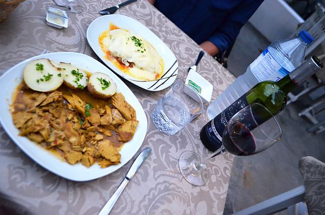 Tuna and lasagne, TascaTelemaco, Hermigua, La Gomera