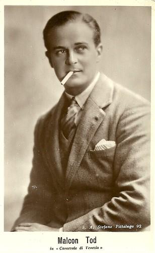 Malcolm Tod in Il carnevale di Venezia