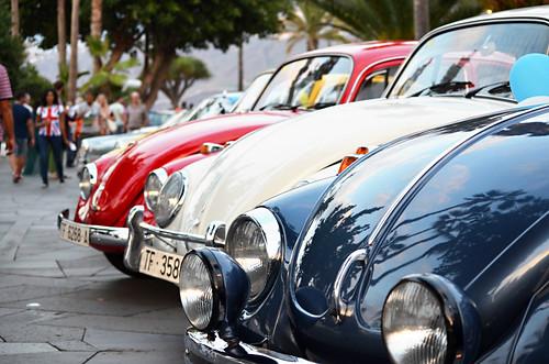 Classic cars, Noche en Blanco, Tenerife