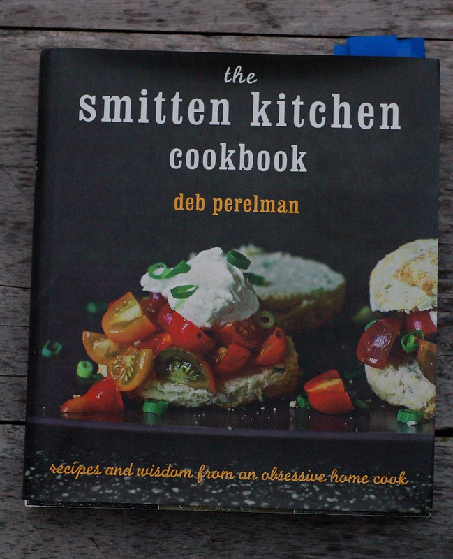 Smitten Kitchen cookbook by Eve Fox, the Garden of Eating, copyright 2014