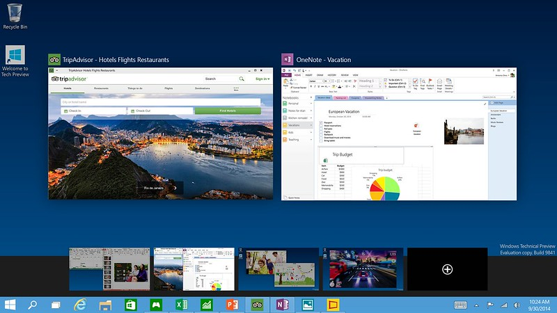 Windows 10 - Multiple Desktops