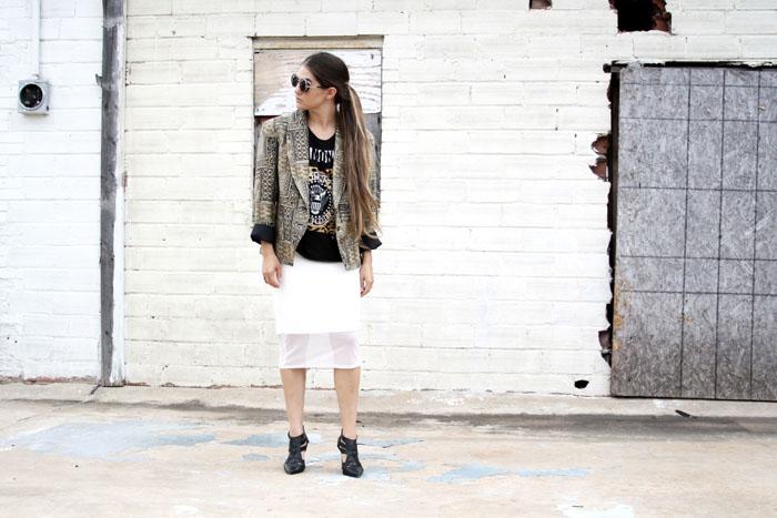Fringe of the Cro | Work outfit styled like Balmain