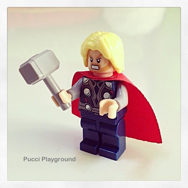 LEGO Thor Minifigurine
