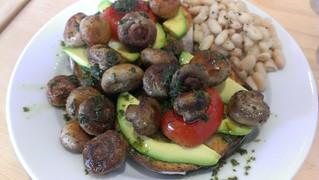Mushroom Breakfast - Suzy Spoon's