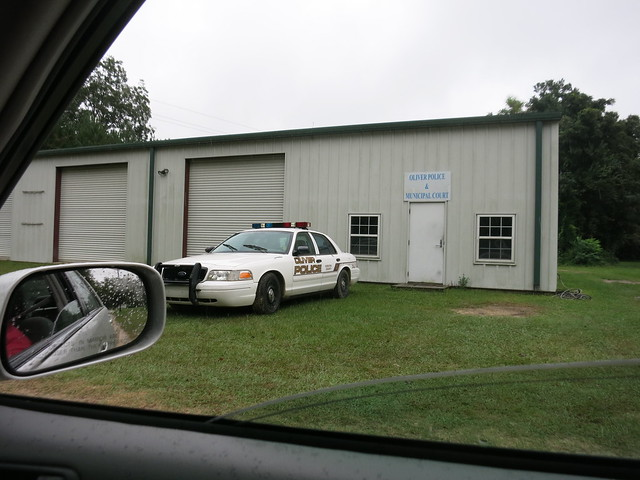 IMG_2994  2014-09-29 Oliver GA Police car and municipal court