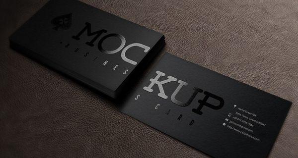 Psd Business Card Mockup Vol5