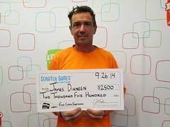 James Dinneen - $2,500 First Class Fortune