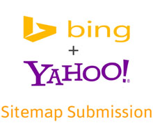 Bing+Yahoo Sitemap Submission