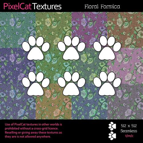 PixelCat Textures - Floral Formica