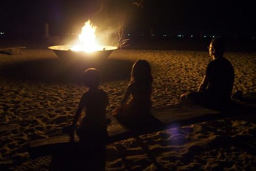 美麗的營火