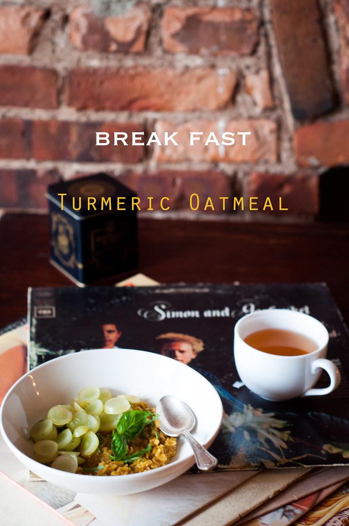 Turmeric Oatmeal