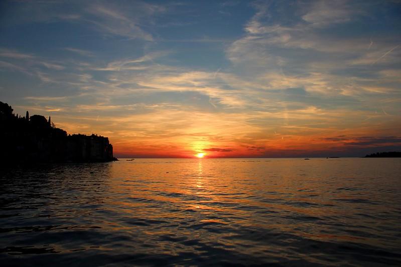 Sunset in Rovinj