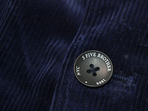 Five Brother [Modern Heritage] / Corduroy Jacket & Pant