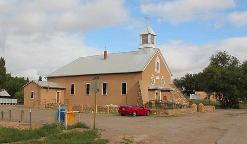 Iglesia Nuestra Señora de los Remedios Catholic Church, Galisteo, NM