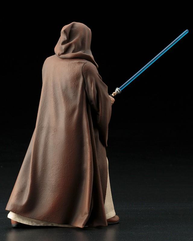 老班,真的是你嗎?!壽屋 ARTFX+ 星際大戰系列【歐比王.肯諾比】Obi-Wan Kenobi 1/10 比例雕像作品
