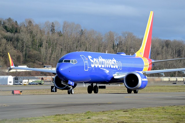 Southwest Airlines Boeing 737-8 Max N8705Q 1A005