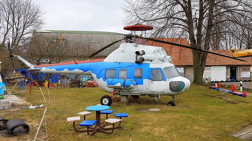 Mil Mi.2See c/n 552701122 German Air Force serial 94+73 preserved in a playground without any markings