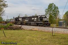 NS 3364 | EMD SD40-2 | NS Memphis District