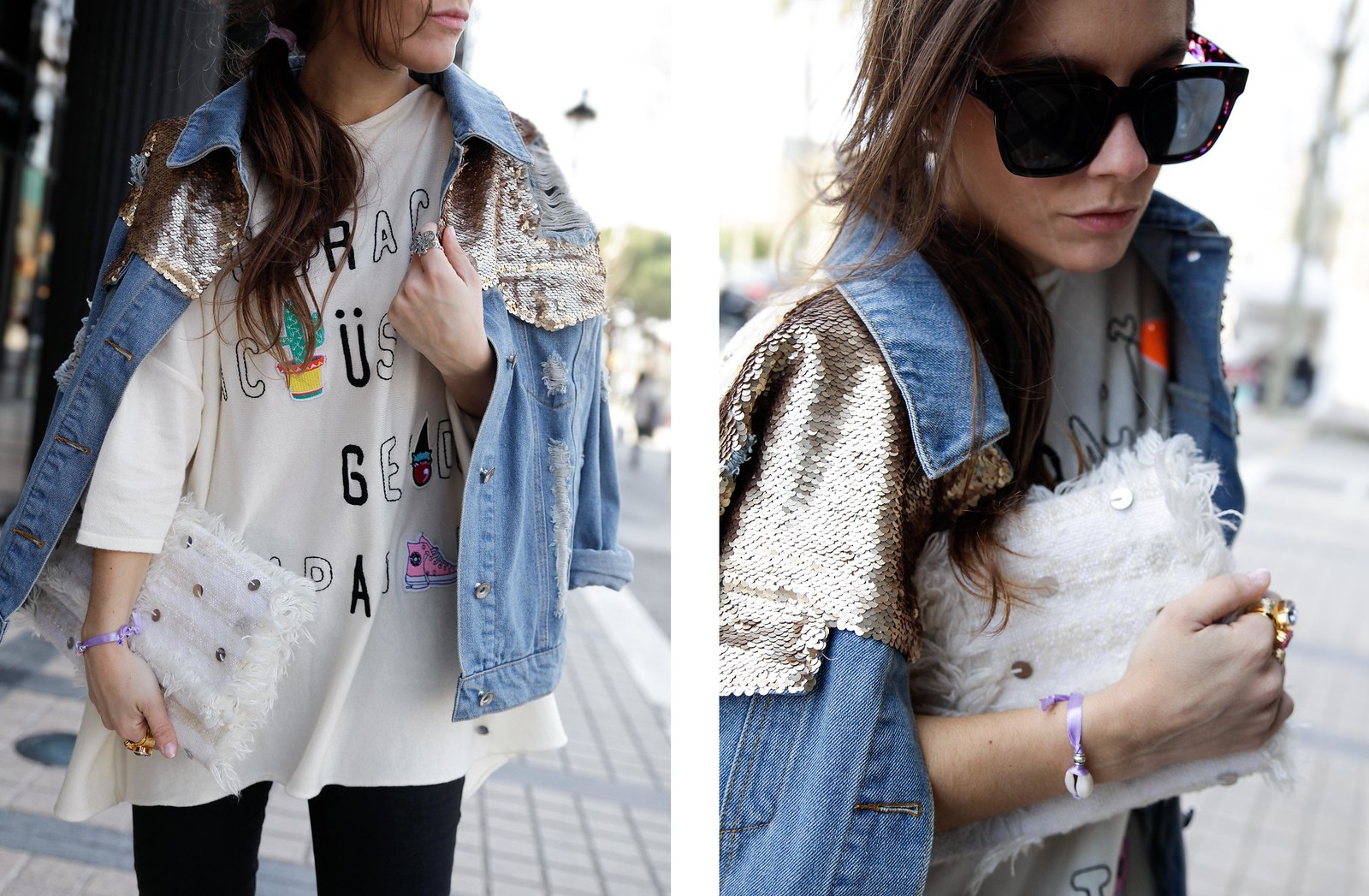 TREND_ ALERT_EMBROIDERY_AND_PATCHES_SEQUINS_DAY INFLUENCER OOTD THEGUESTGIRL STREET
