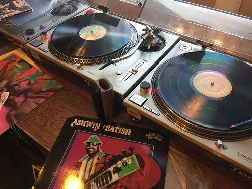 Scott Borne's vinyl