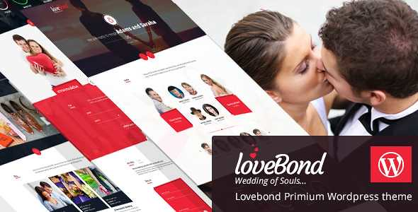 LoveBond WordPress Theme free download