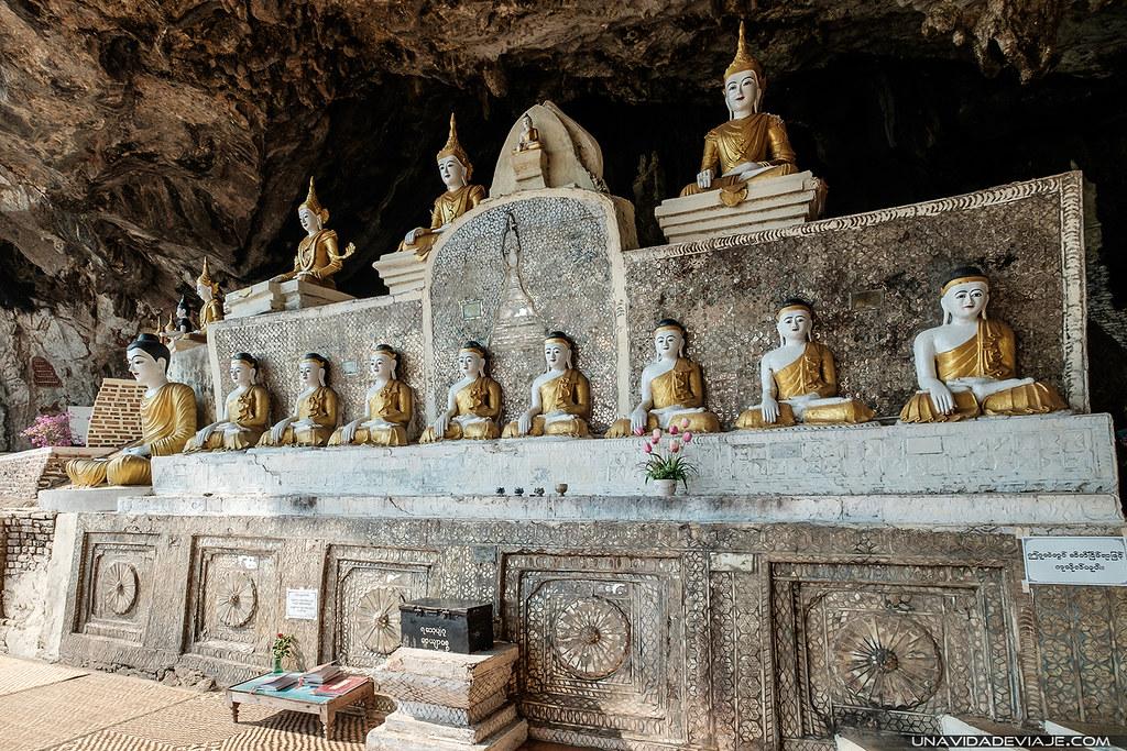 cuevas Hpa an Yathaypyan