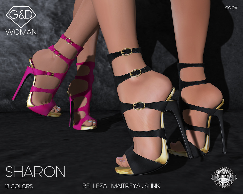 G&D Shoes Sharon 02 adv - SecondLifeHub.com
