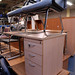 Ex demo straight desk comes with drawers E150
