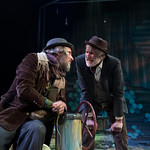 Waiting for Godot - Arvada Center 2017 - Pictured L-R: Timothy McCracken (Estragon) and Sam Gregory (Vladimir)  Photo Credit: M. Gale Photography 2017