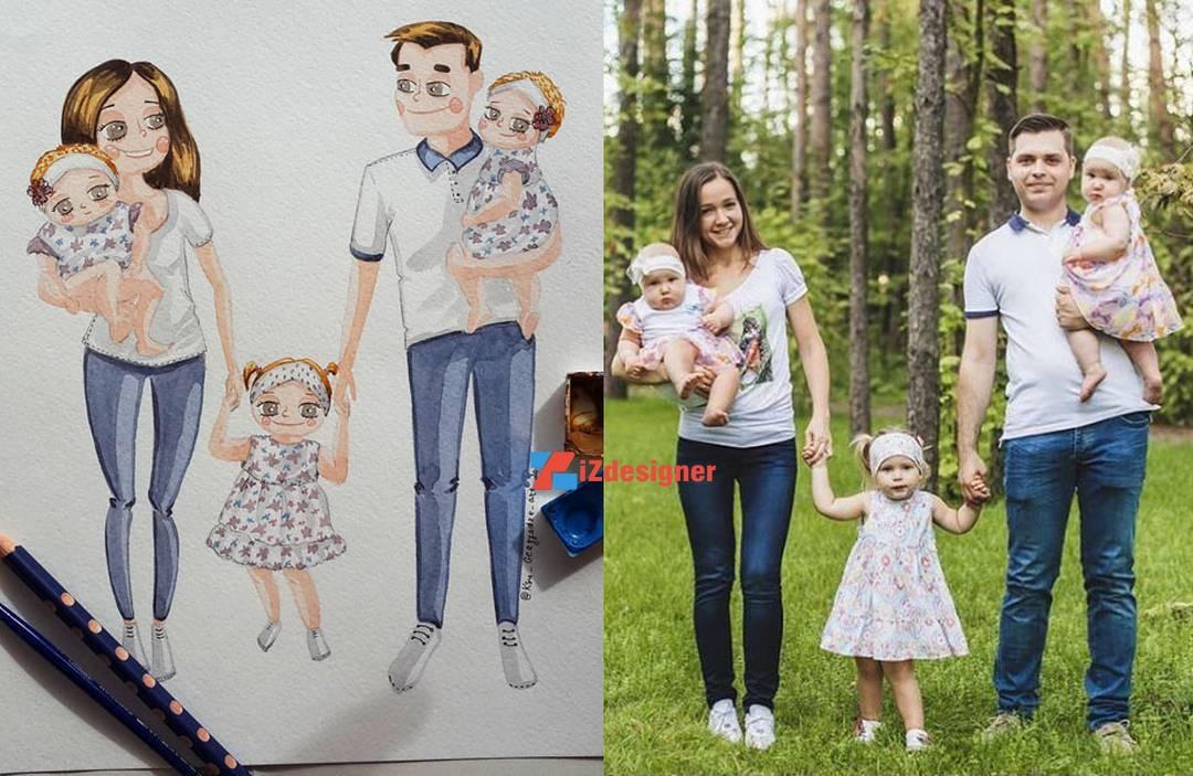 Từ cuộc sống đi vào tranh vẽ