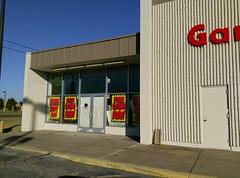 Jonesboro Kmart, former garden center entrance