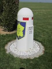 2e Division Blindée marker - Photo of Avoine