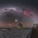 Cosmic fireworks over Paranal by European Southern Observatory