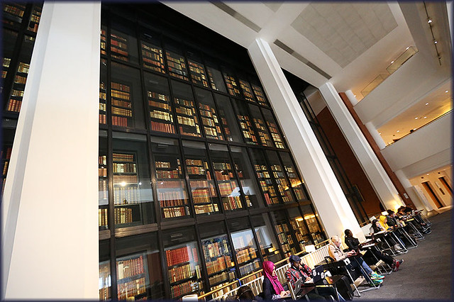 Kings Library at the British Library