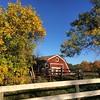 Oh, this barn is so photogenic...#redbarn #northdakota #autumn #ranchlife