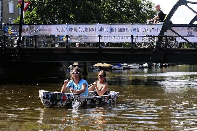 Paperboat 3 - Groene Grachten