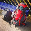 The bulging backpack's last hurrah! It has served me well for 11+ years. The coveted front zip went in Oz in February, shortly followed by another zipcord, and they are all on their last legs.   I won't chuck it if I buy a new one though - it's still fine
