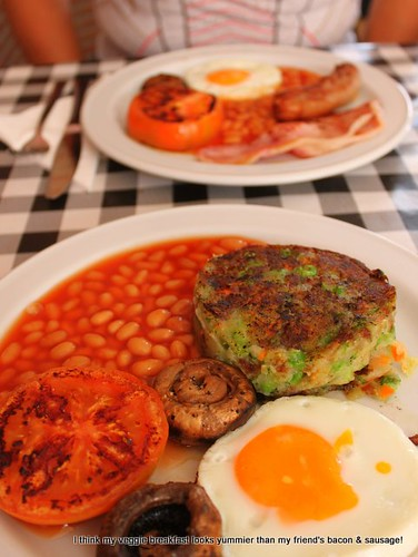 Veggie cooked breakfast