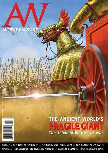 Δημοσίευση στο περιοδικό ANCIENT WARFARE Magazine, Σεπτέμβριος 2014