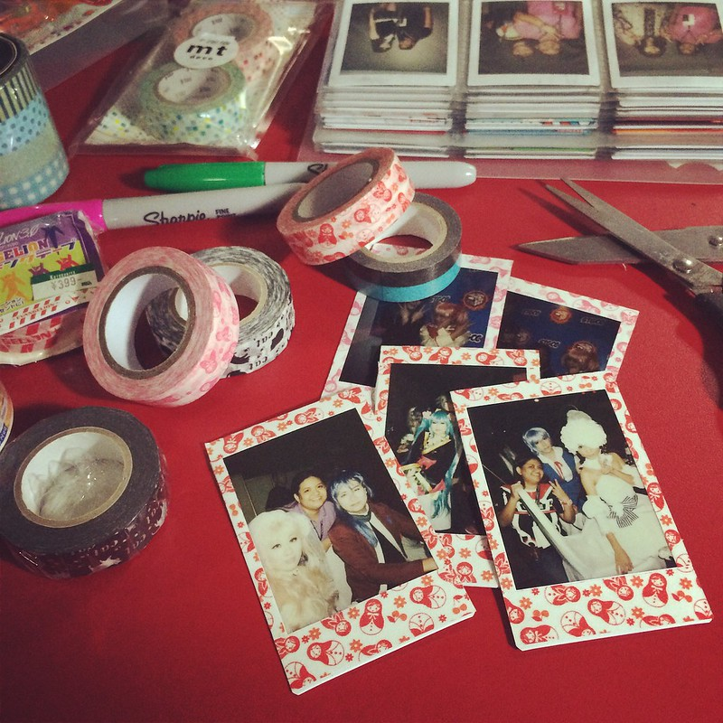 Top Five Tips on Decorating Fuji Instax Prints