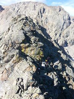 CMC Scramblers on Little Matterhorn