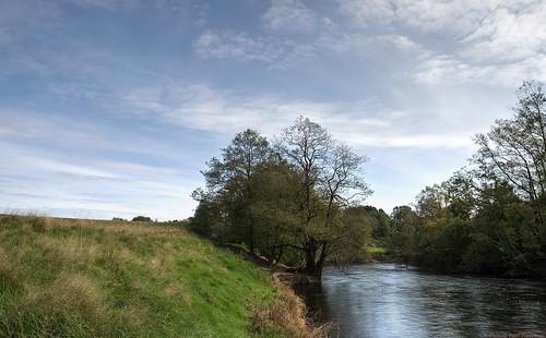 autumn sky fall clouds river landscape afternoon mark 28mm hdr västragötaland västergötland viskan 3exposurehdr sjuhärad lekvad