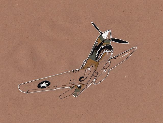 curtiss p40e warhawk