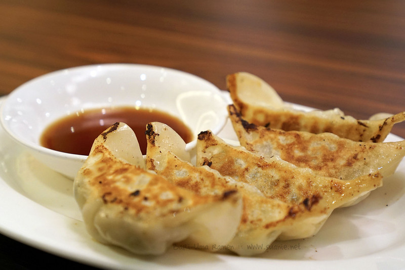 Bari-Uma Ramen Malaysia - chicken gyoza