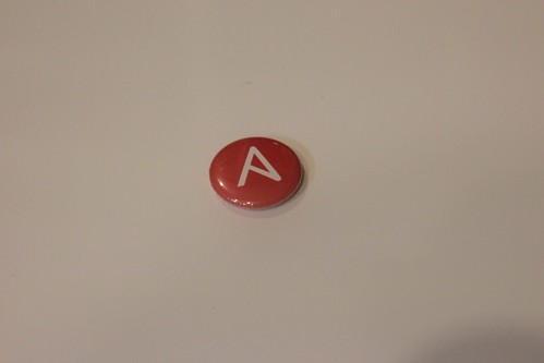 Ansible Pin Badge