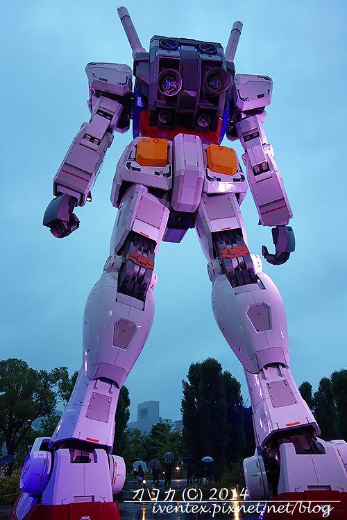 06日本東京台場DiverCity Tokyo Plaza機動戰士鋼彈