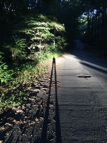 street morning shadow sunrise eerie iphone5s
