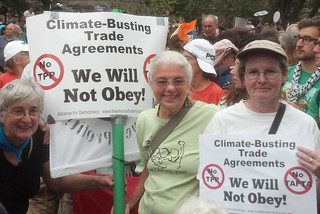 climate marchers