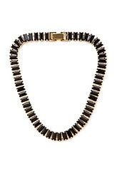 Forever21 faux gemstone collar