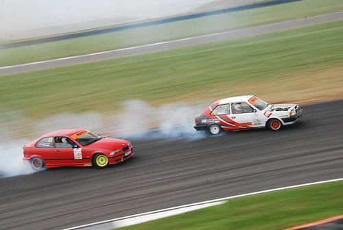 William Rose - Dan Firmanger, Maxxis British Drift Championship, Anglesey 2014